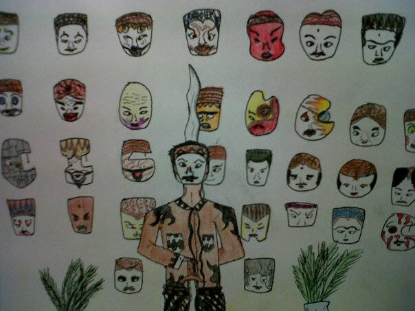 Abimata and His Mask