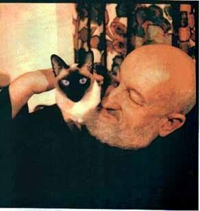 Lobsang Rampa and His Cat