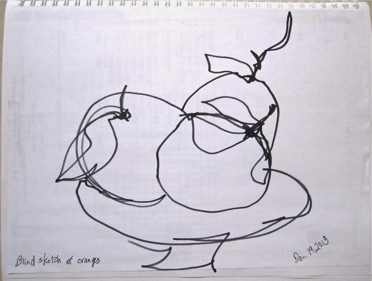 Blind Sketch