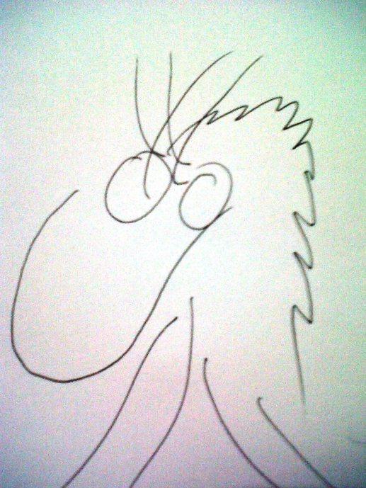 Metal Dragon (Blind Sketching)